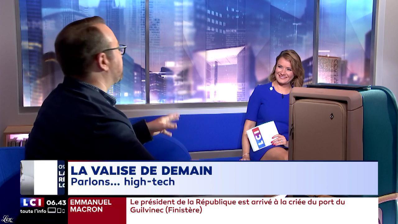 Pascale De La Tour Du Pin dans la Matinale. Diffusé à la télévision le 21/06/18.