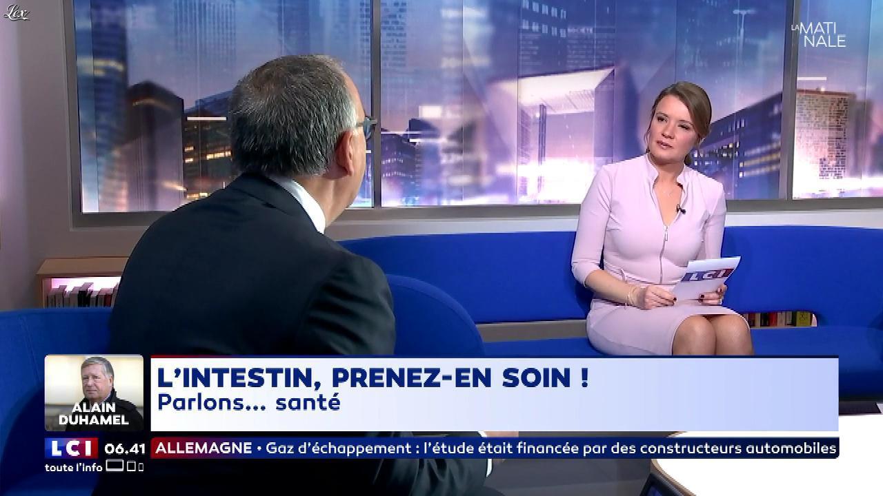 Pascale De La Tour Du Pin dans la Matinale. Diffusé à la télévision le 30/01/18.