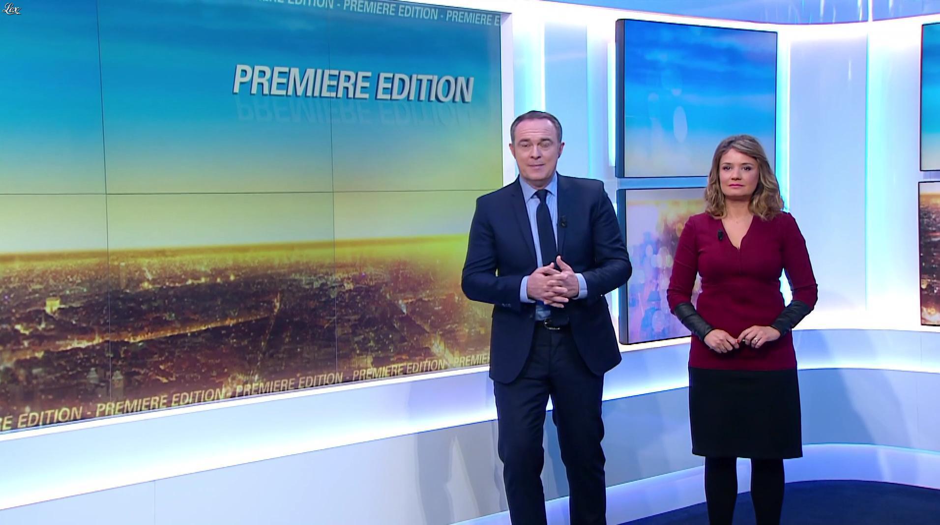 Pascale De La Tour Du Pin dans Première Edition. Diffusé à la télévision le 04/04/17.