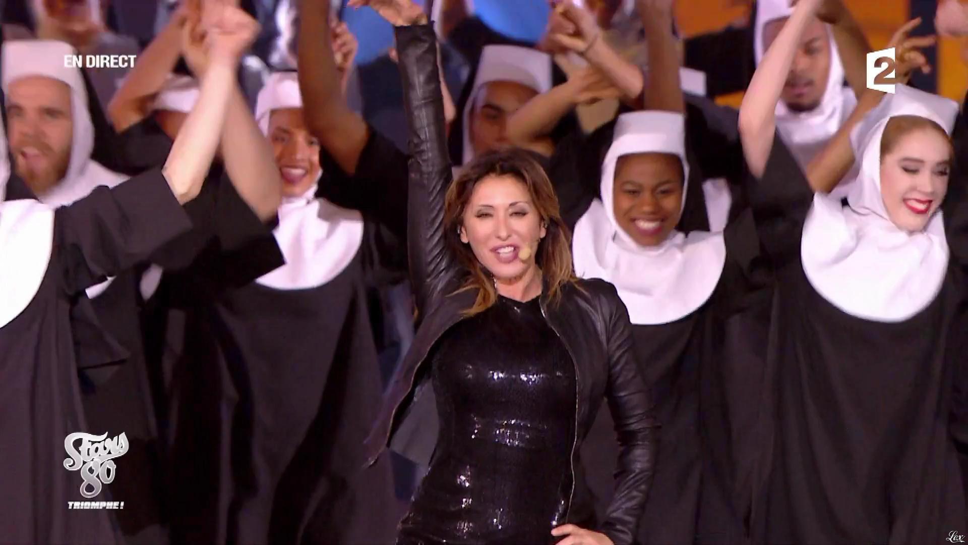 Sabrina Salerno dans Stars 80 Triomphe. Diffusé à la télévision le 02/12/17.