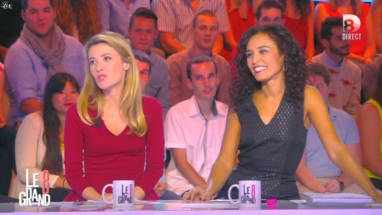 Aïda Touihri dans le Grand 8. Diffusé à la télévision le 07/09/15.