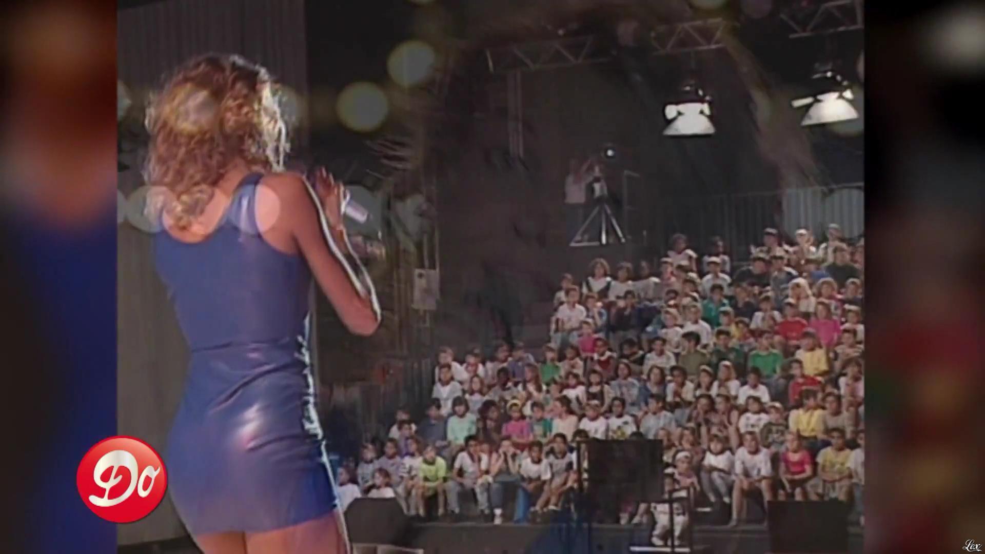 Indra dans Club Dorothee. Diffusé à la télévision le 15/05/93.