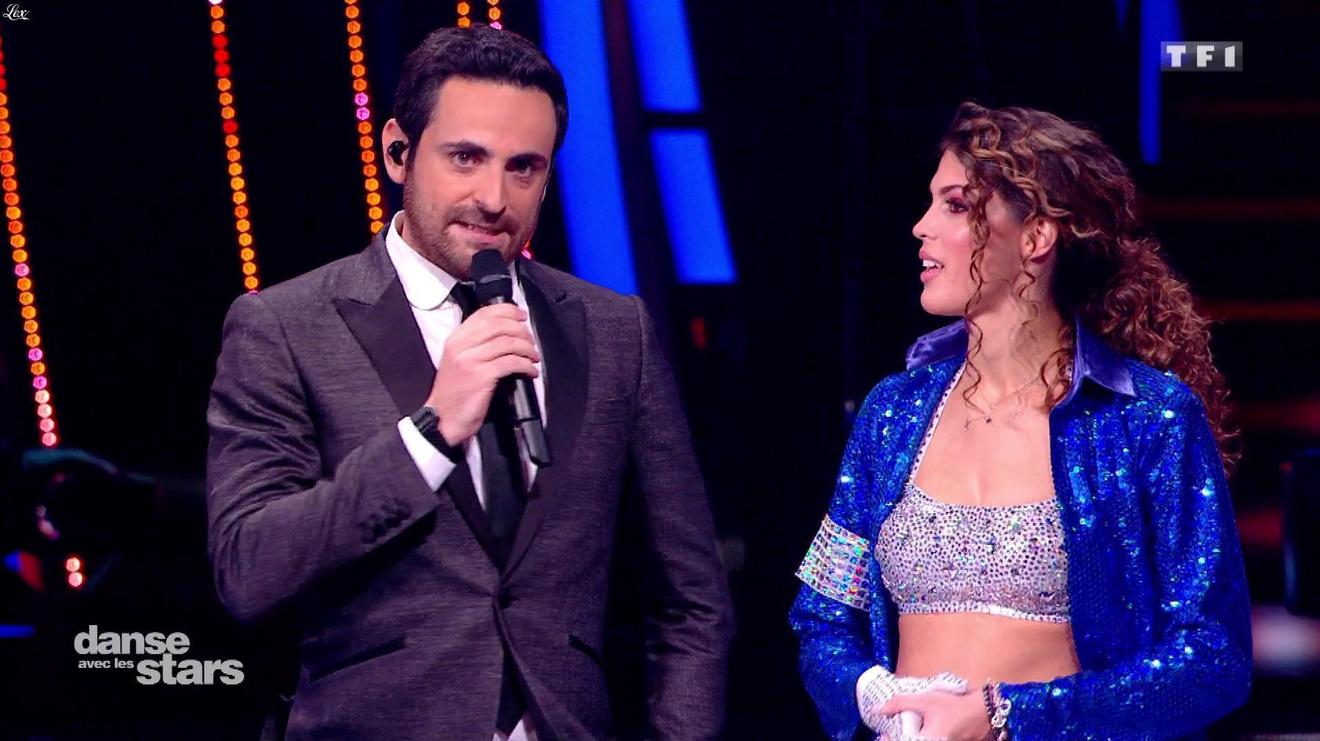Iris Mittenaere dans Danse avec les Stars. Diffusé à la télévision le 08/11/18.