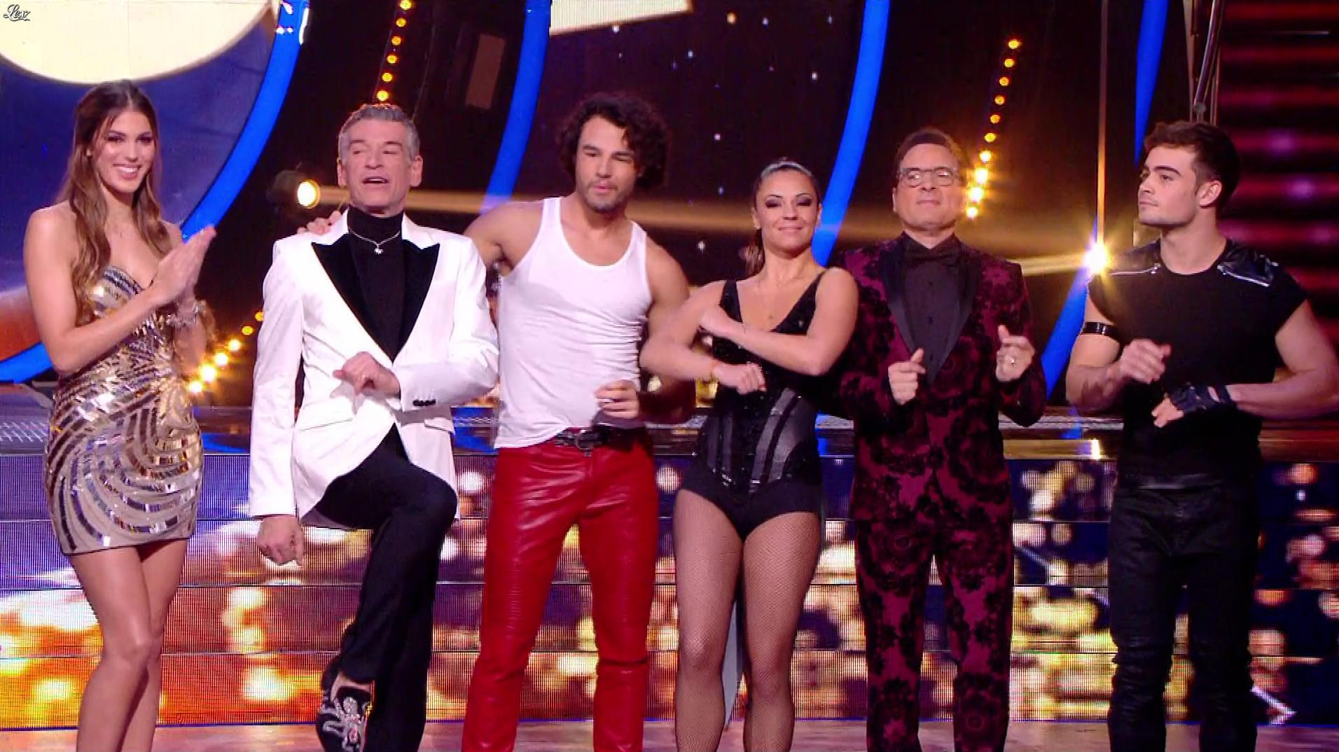 Iris Mittenaere dans Danse avec les Stars. Diffusé à la télévision le 17/11/18.