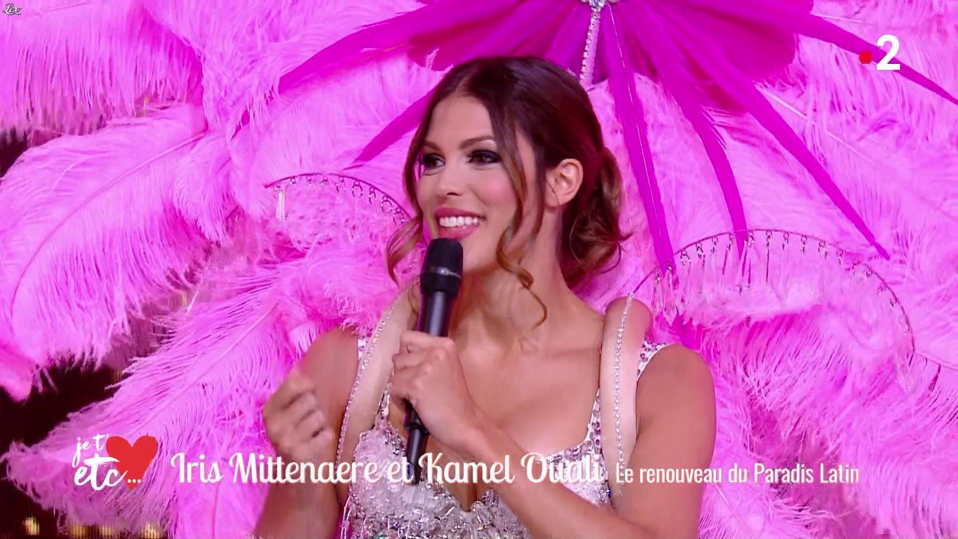 Iris Mittenaere dans Je t aime etc. Diffusé à la télévision le 16/04/19.