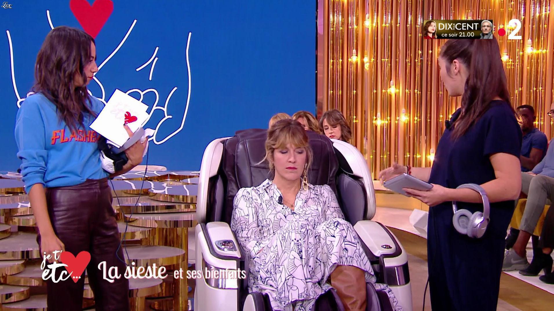 Janane Boudili dans Je t'aime, etc.. Diffusé à la télévision le 21/11/18.