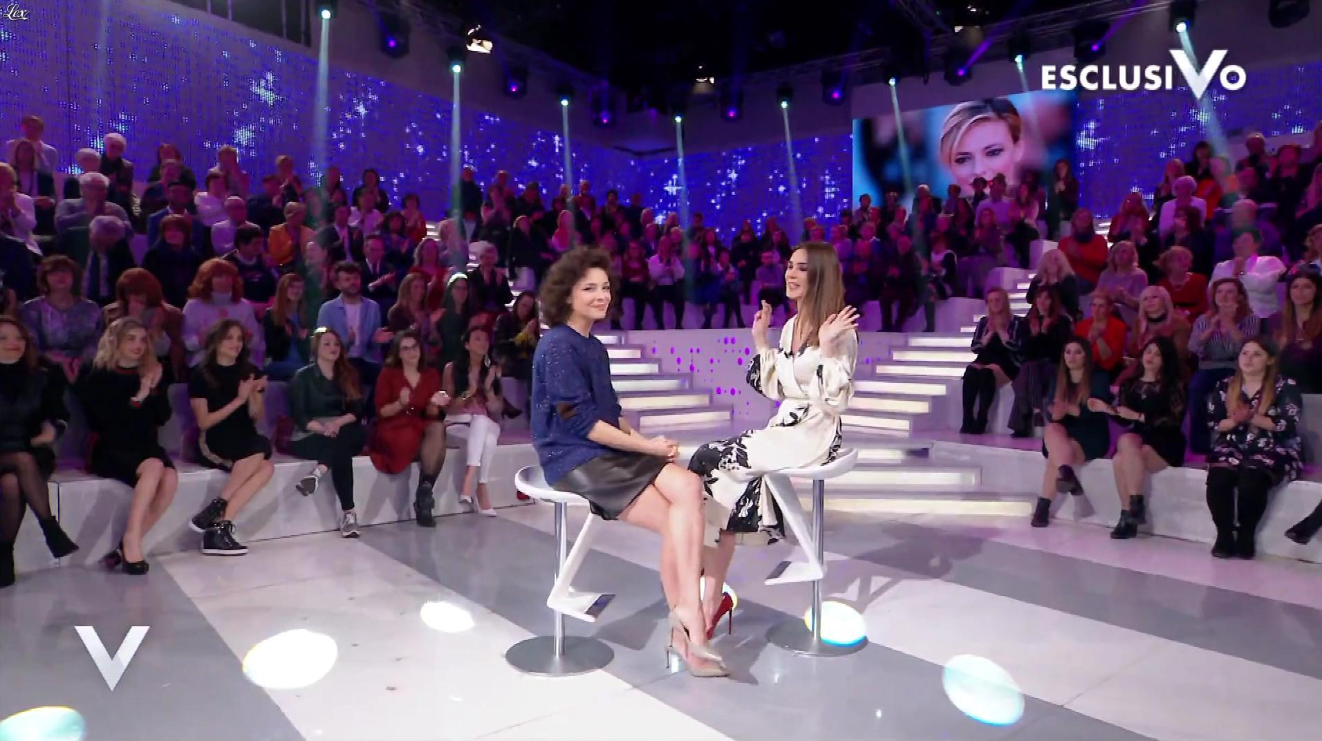 Jasmine TrinÇa dans Verissimo. Diffusé à la télévision le 02/03/19.