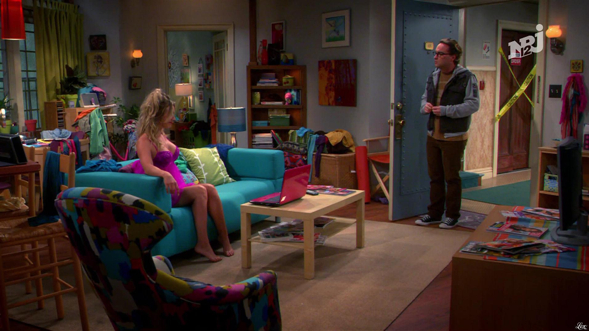 Kaley Cuoco dans The Big Bang Theory. Diffusé à la télévision le 27/10/18.