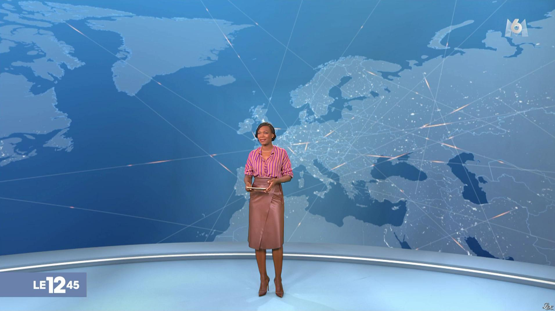 Kareen Guiock dans le 12-45. Diffusé à la télévision le 08/02/19.