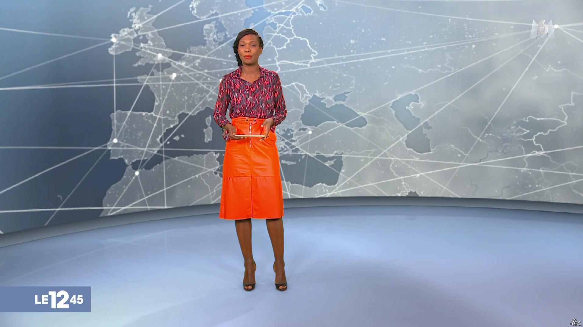 Kareen Guiock dans le 12-45. Diffusé à la télévision le 19/12/18.