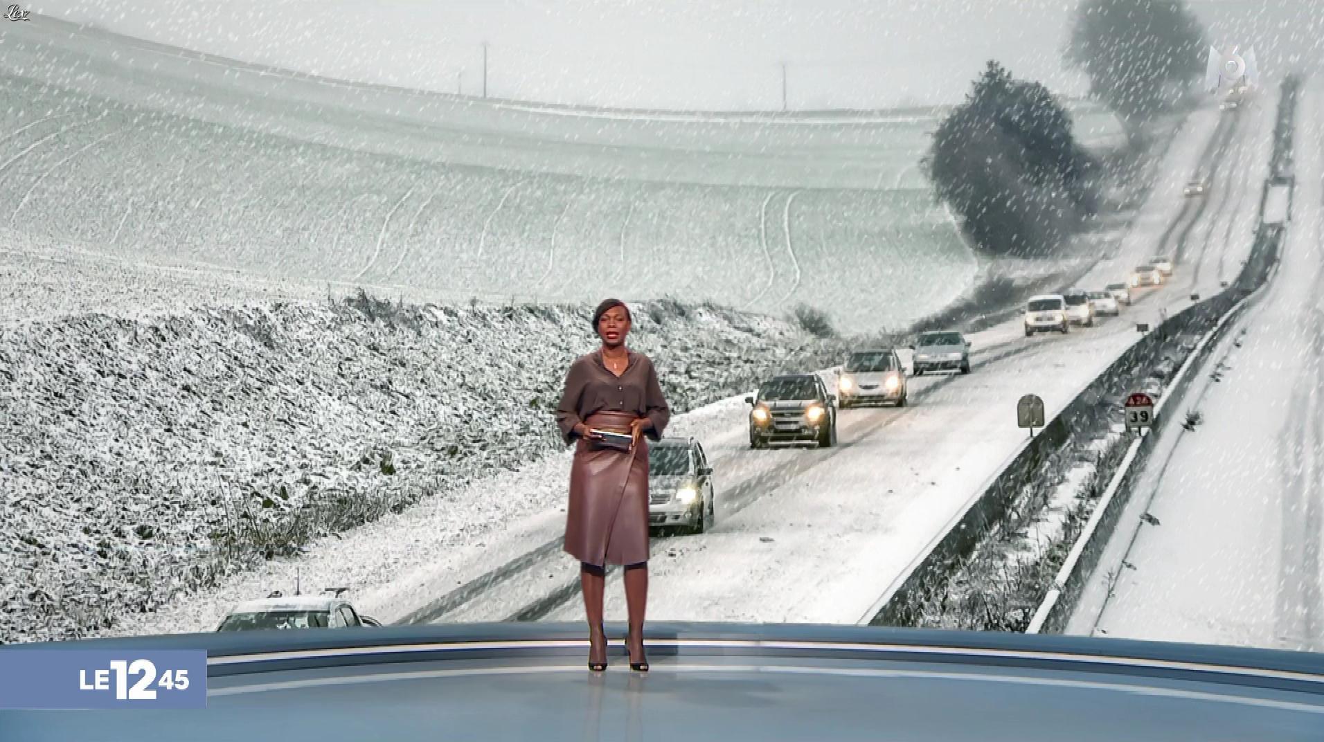 Kareen Guiock dans le 12-45. Diffusé à la télévision le 29/01/19.