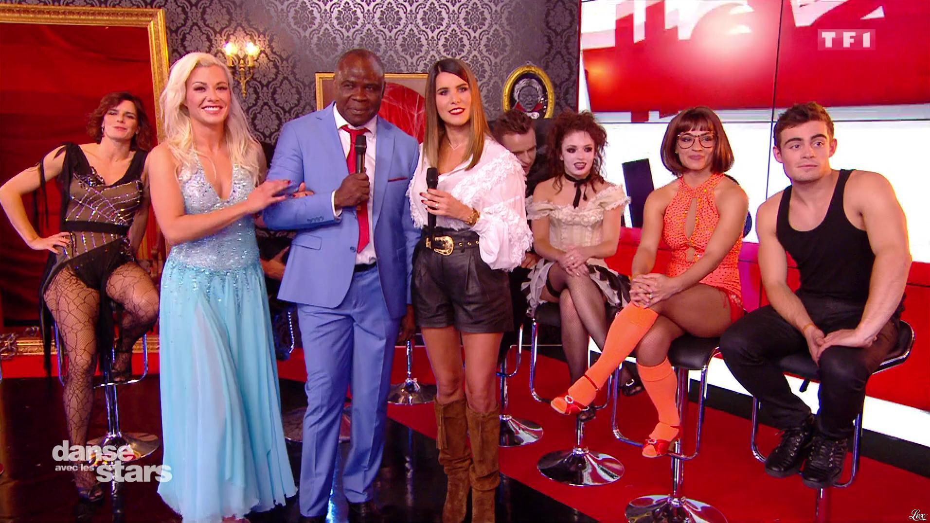 Karine Ferri dans Danse avec les Stars. Diffusé à la télévision le 27/10/18.