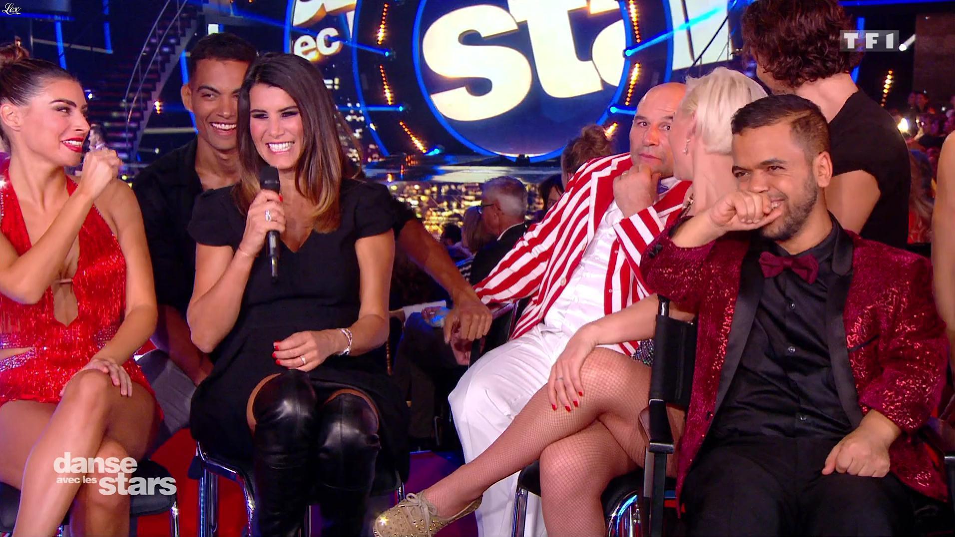 Karine Ferri dans Danse avec les Stars. Diffusé à la télévision le 29/09/18.