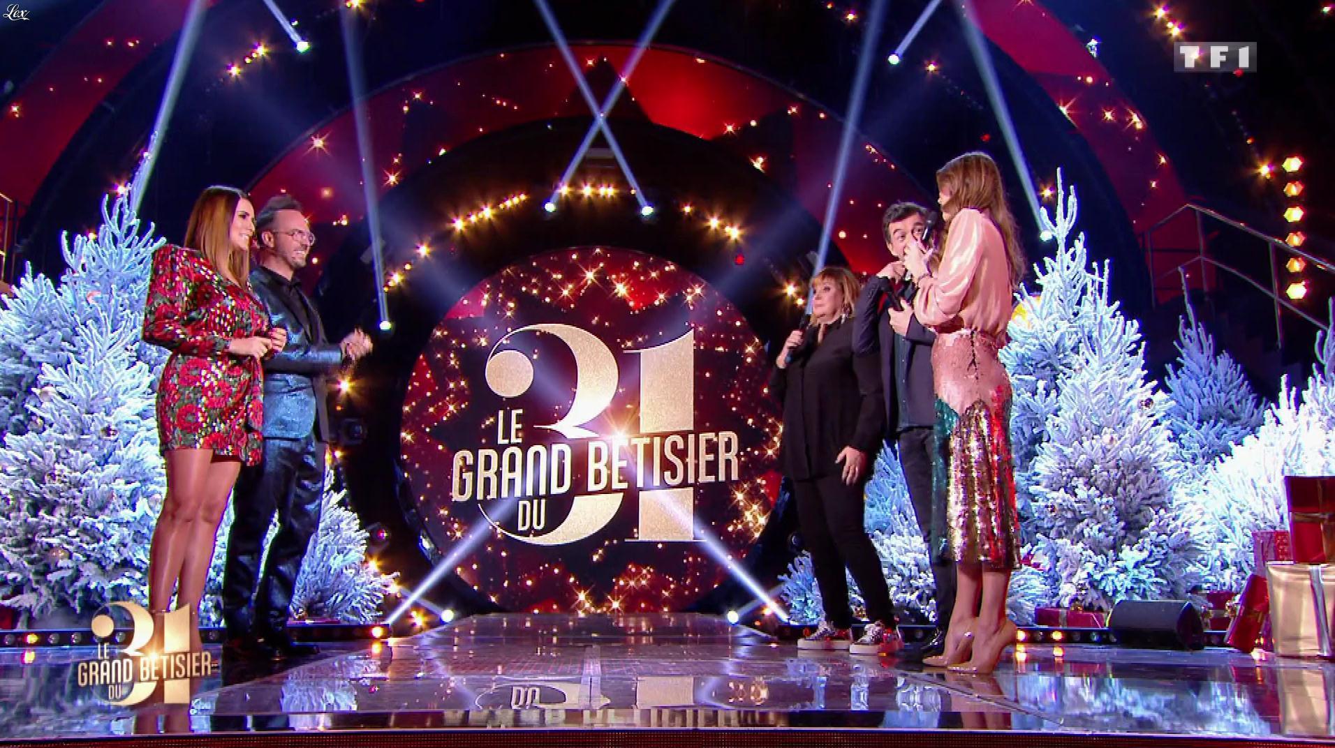 Karine Ferri dans le Grand Bêtisier du 31. Diffusé à la télévision le 31/12/18.