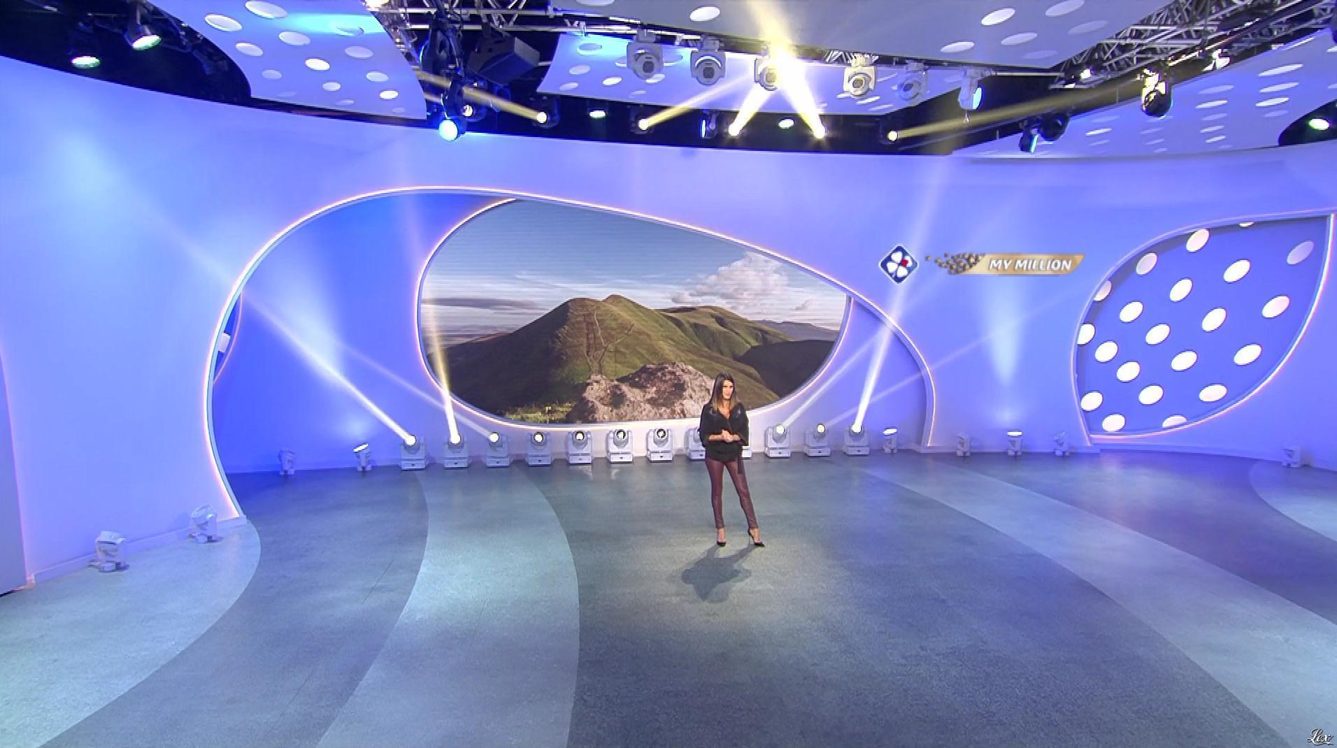 Karine Ferri dans My Million. Diffusé à la télévision le 12/10/18.