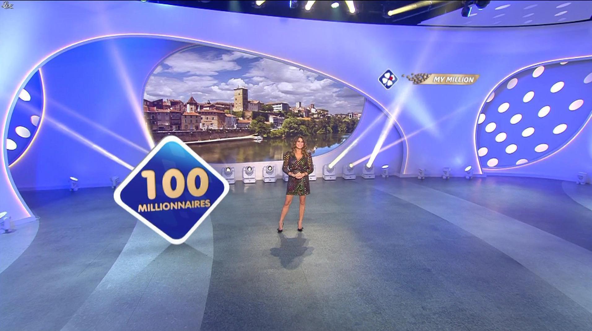 Karine Ferri dans My Million. Diffusé à la télévision le 16/11/18.
