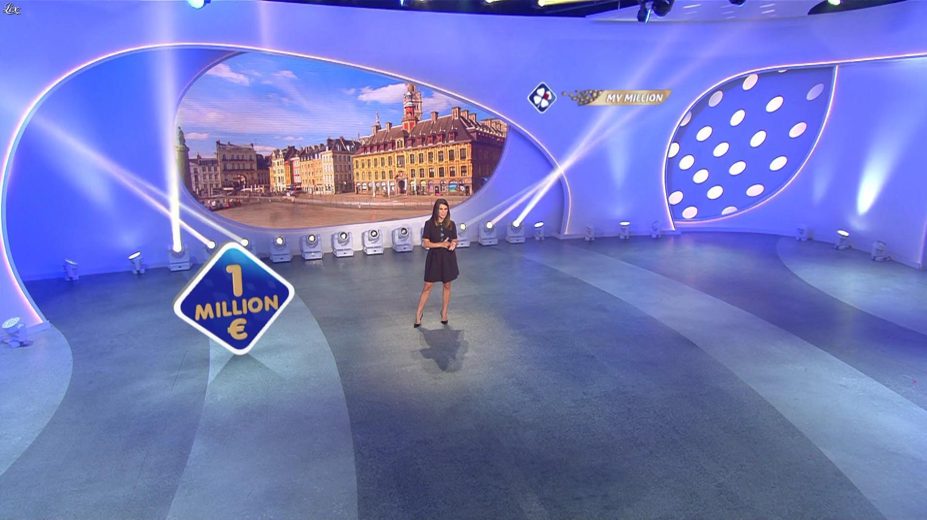 Karine Ferri dans My Million. Diffusé à la télévision le 19/10/18.