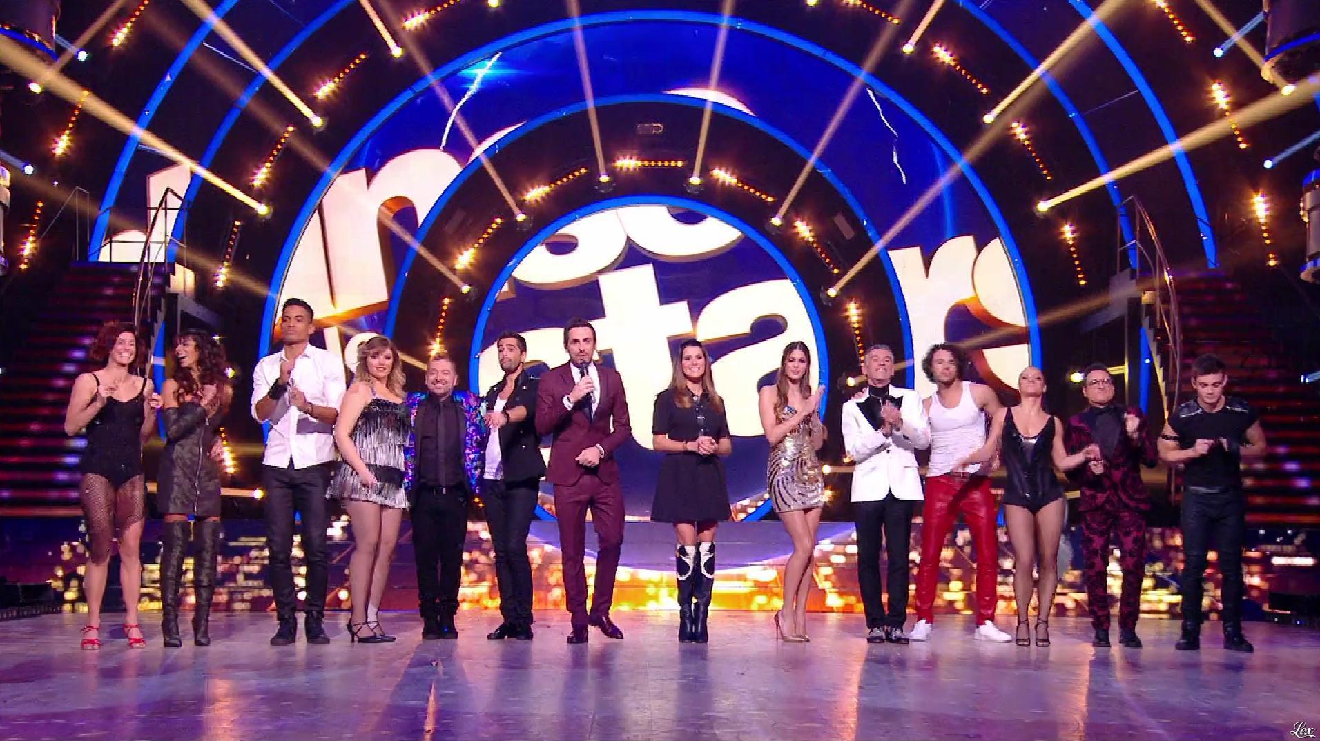 Karine Ferri, Shy m'et Iris Mittenaere dans Danse avec les Stars. Diffusé à la télévision le 17/11/18.