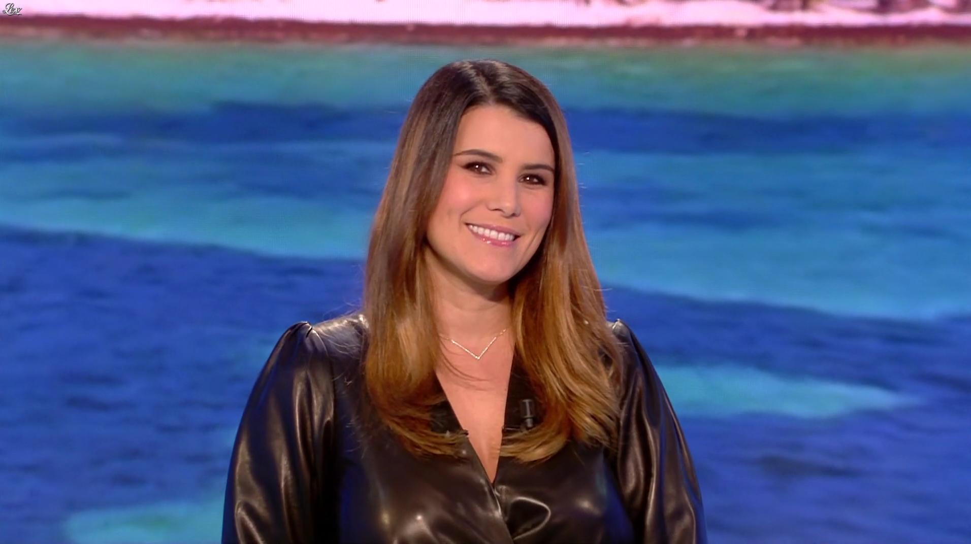 Karine Ferri lors du Tirage du Loto. Diffusé à la télévision le 07/01/19.