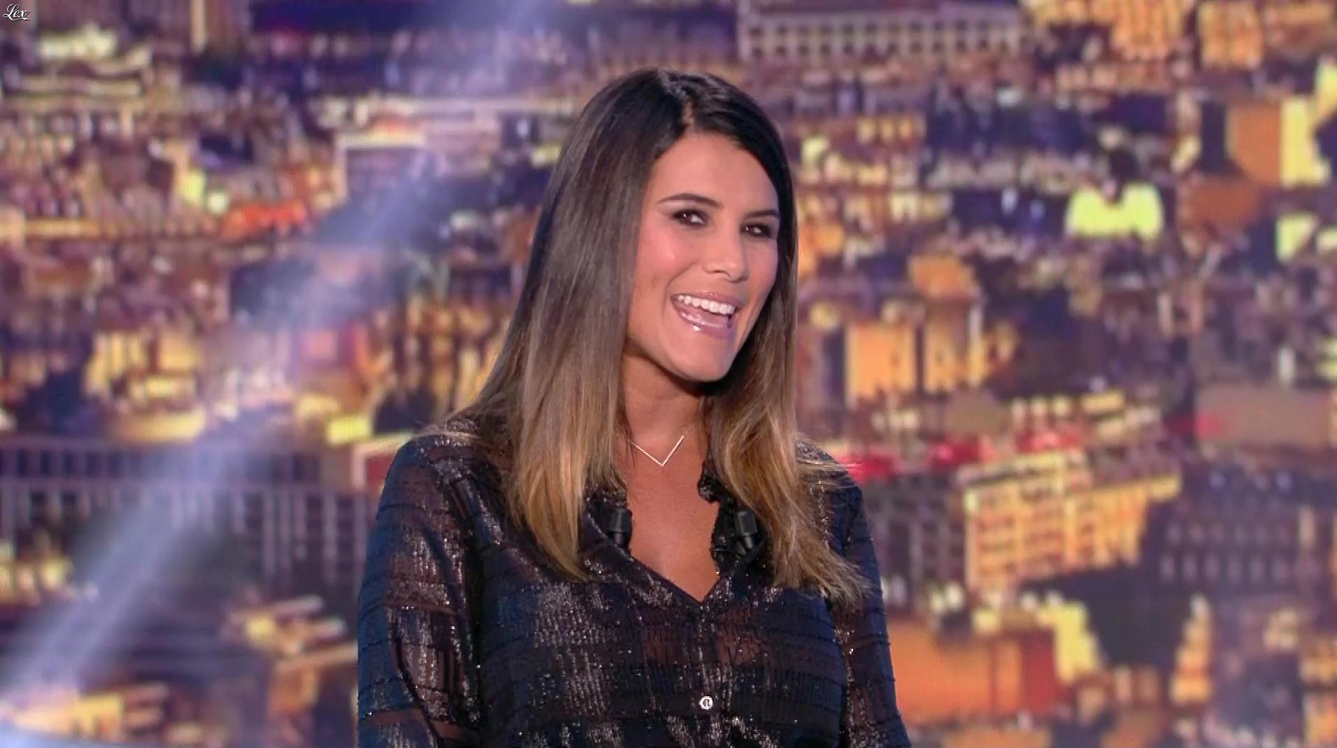 Karine Ferri lors du Tirage du Loto. Diffusé à la télévision le 17/09/18.