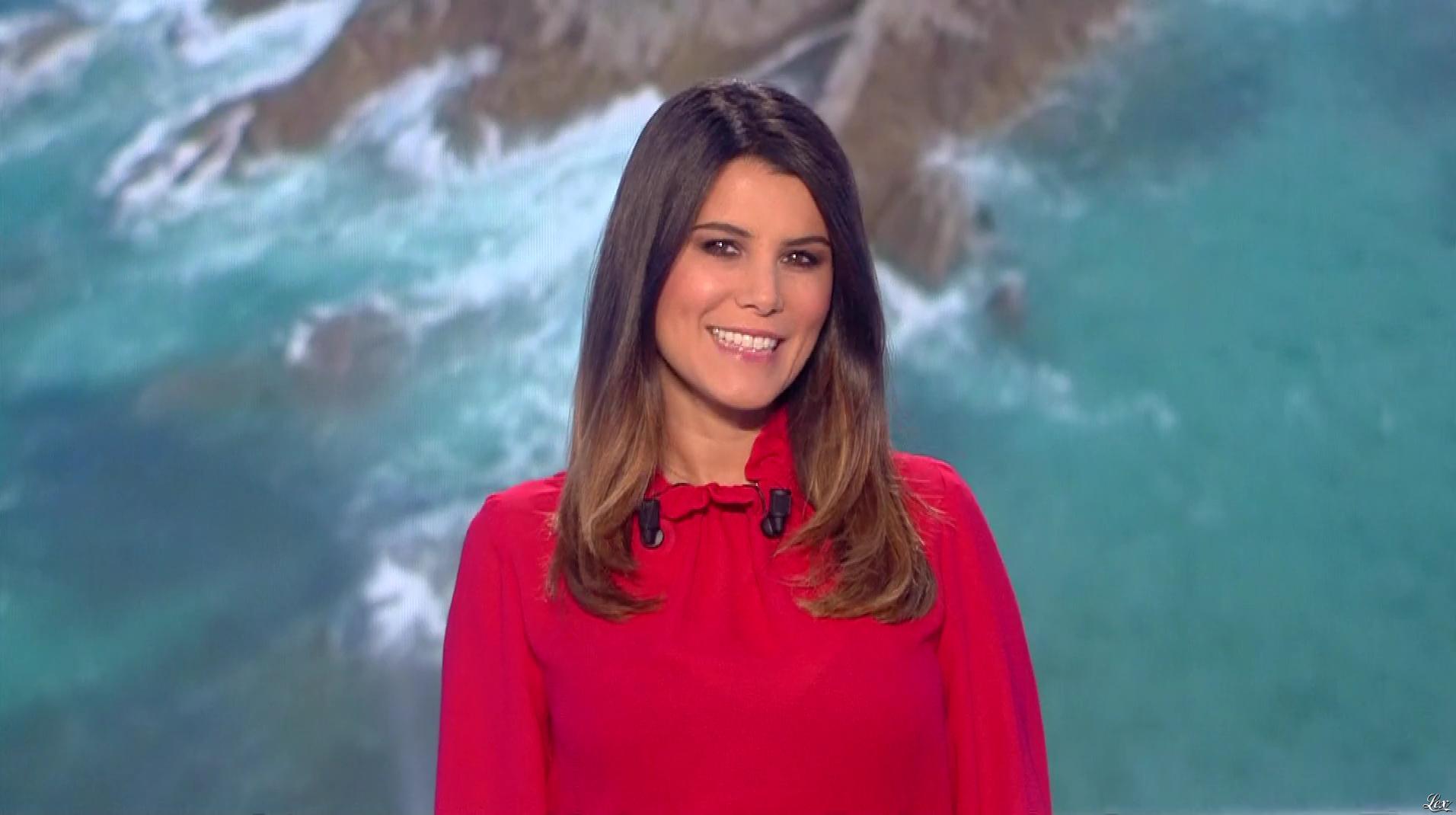 Karine Ferri lors du Tirage du Loto. Diffusé à la télévision le 22/10/18.