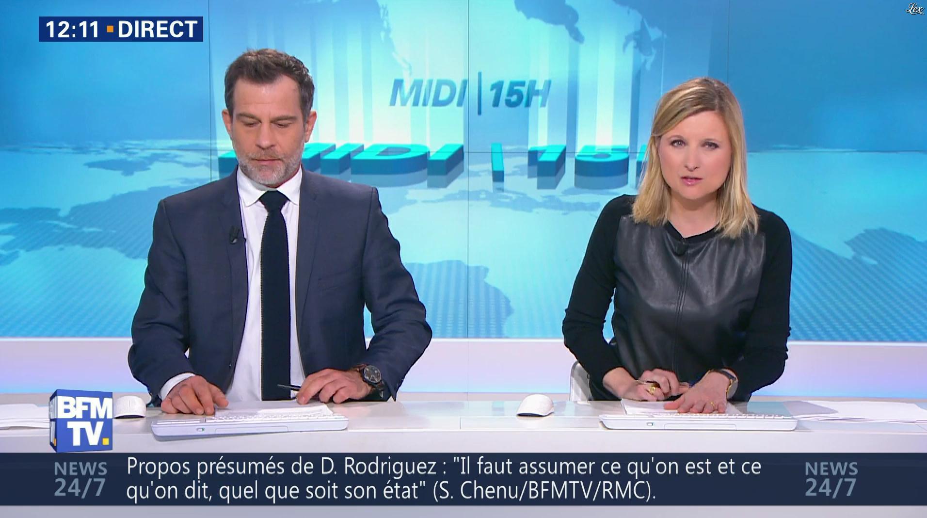 Karine de Menonville dans le Midi-15h. Diffusé à la télévision le 12/03/18.