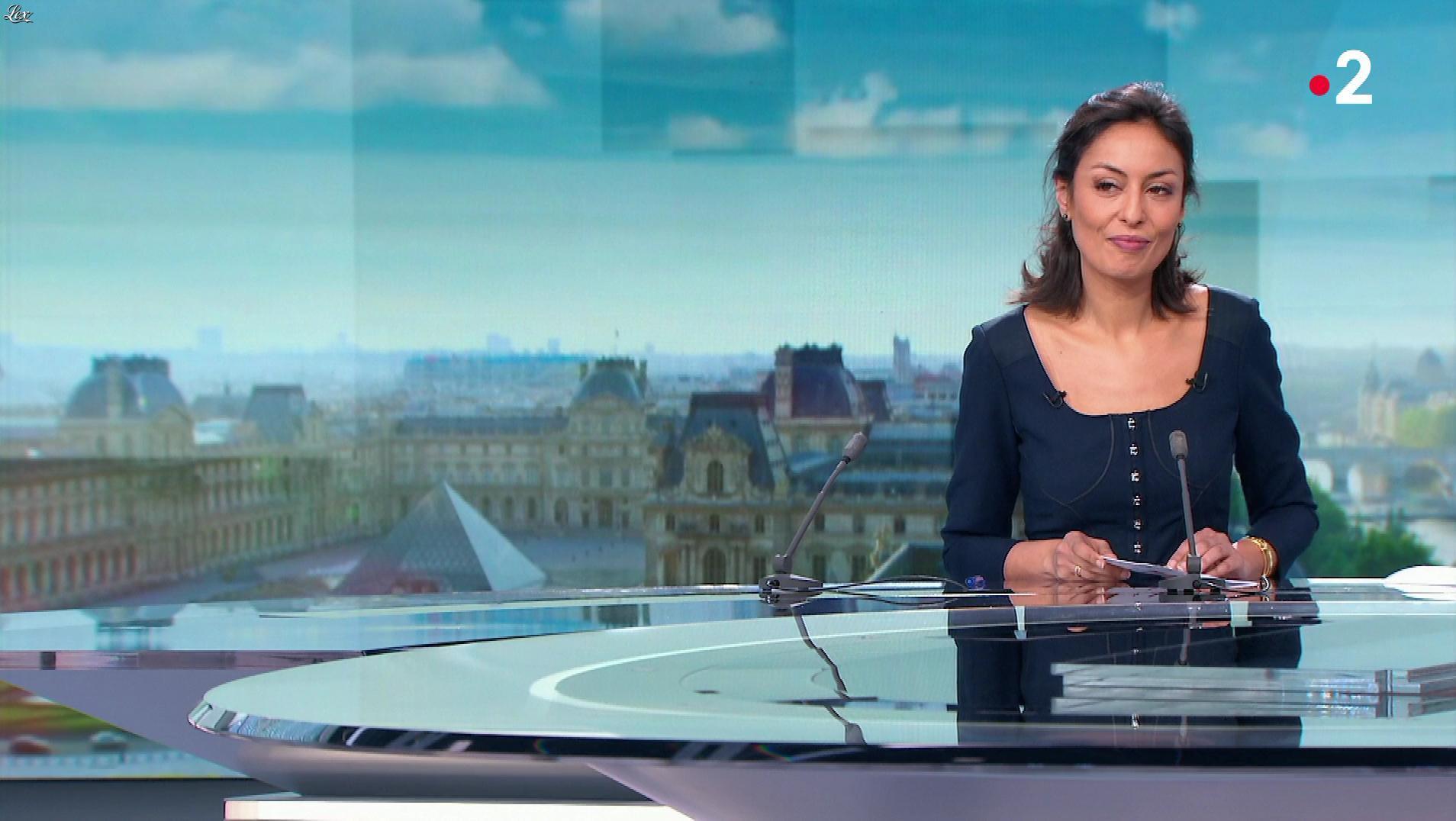 Leïla Kaddour dans le 13h. Diffusé à la télévision le 03/02/19.