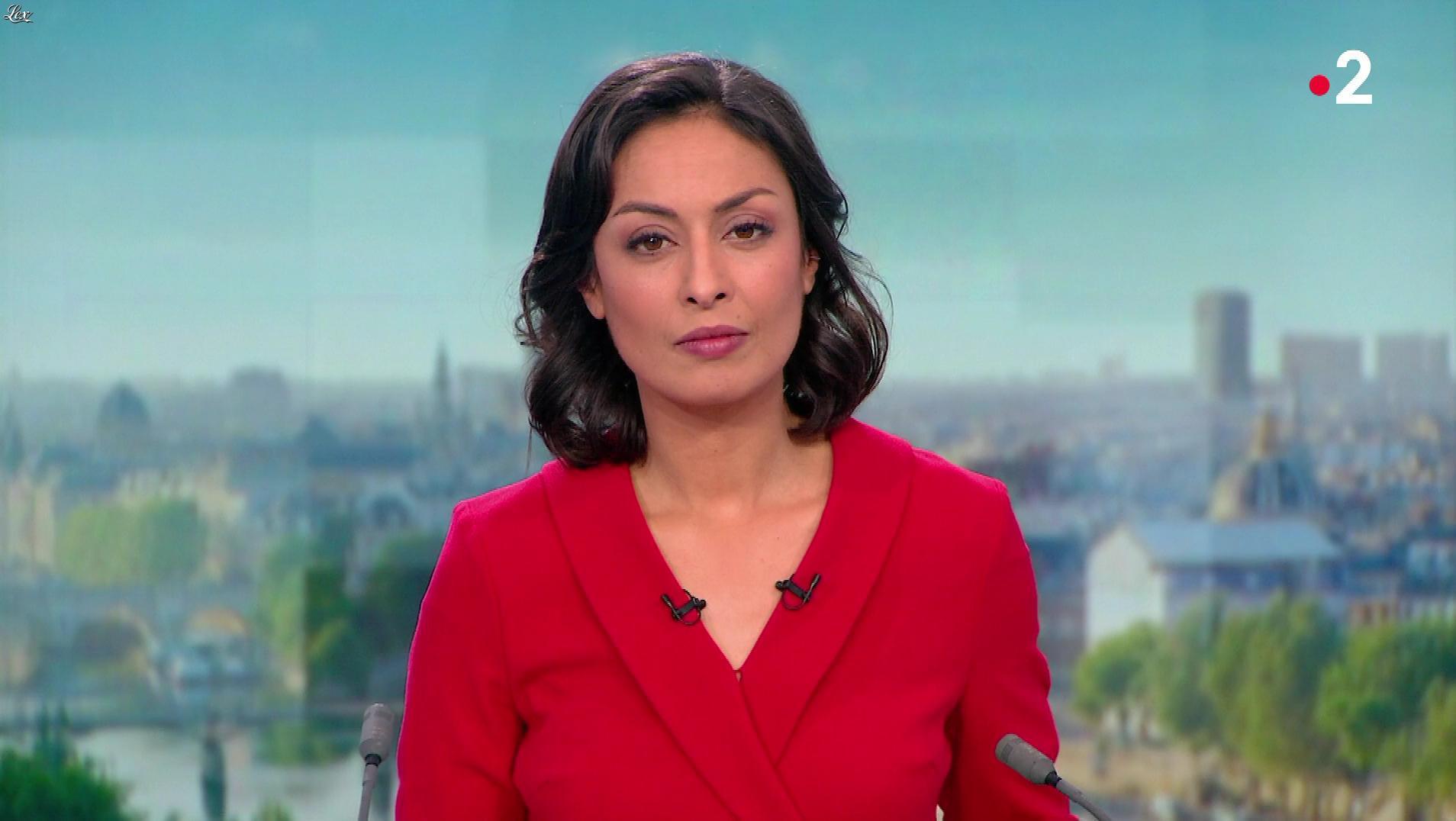 Leïla Kaddour dans le 13h. Diffusé à la télévision le 05/01/19.