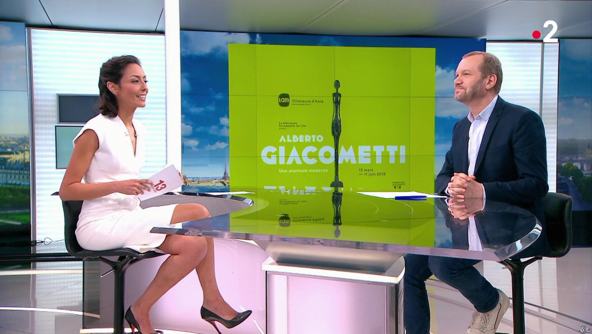 Leïla Kaddour dans le 13h. Diffusé à la télévision le 16/03/19.