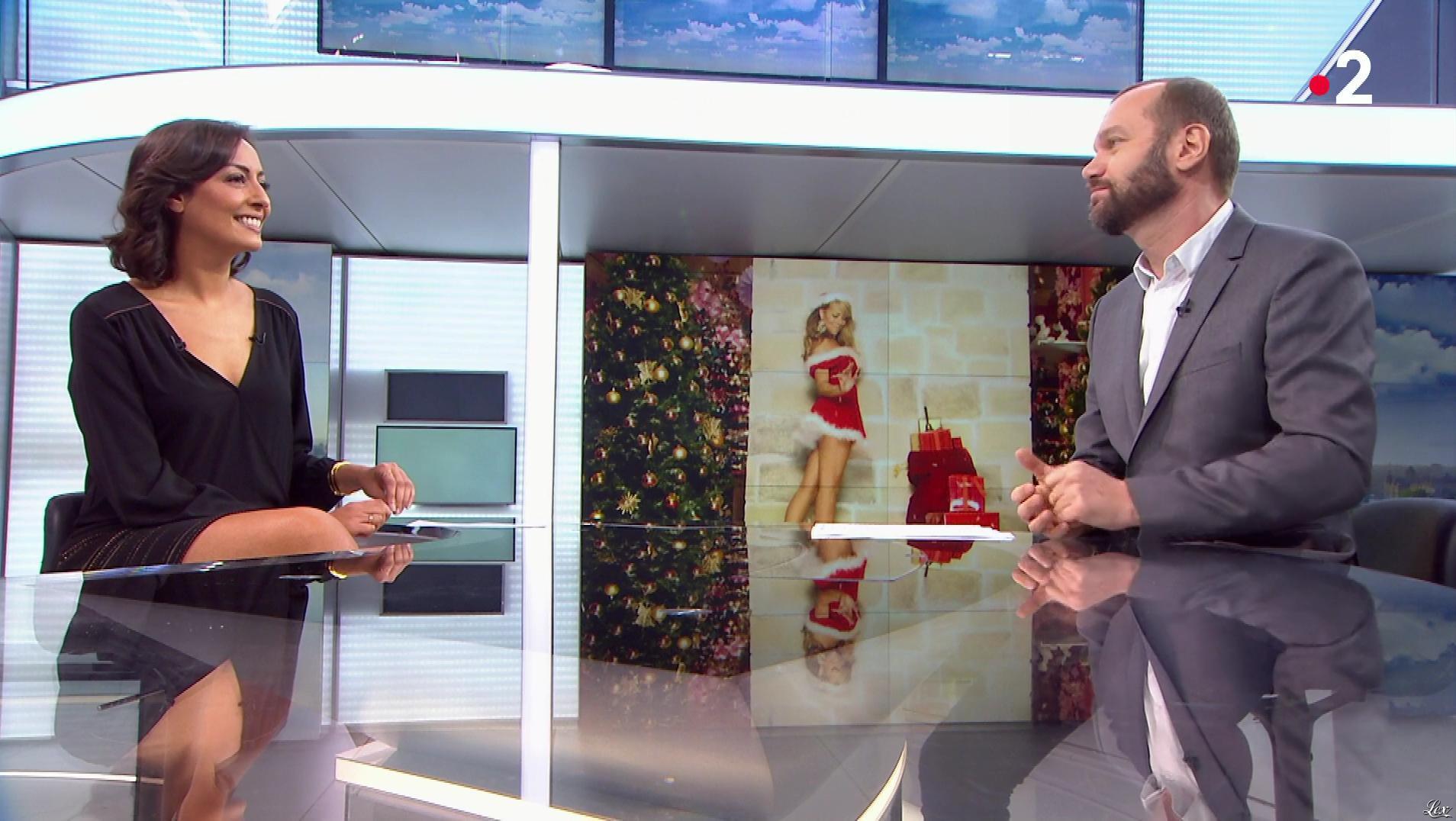 Leïla Kaddour dans le 13h. Diffusé à la télévision le 22/12/18.