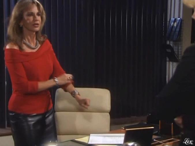 Jess Walton dans les Feux De l'Amour. Diffusé à la télévision le 20/07/05.