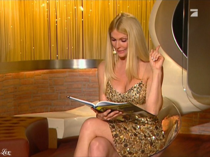 Sonya Kraus dans Talk Talk Talk. Diffusé à la télévision le 08/01/11.