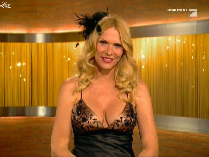 Sonya Kraus dans Talk Talk Talk. Diffusé à la télévision le 30/10/10.