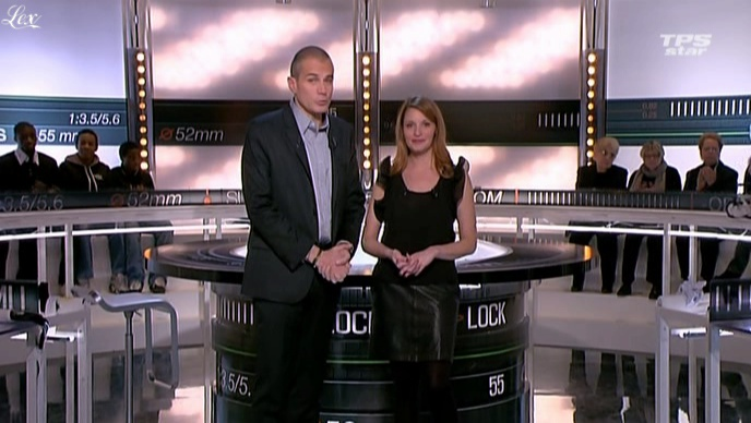 Valérie Amarou dans la Quotidienne Du Cinema. Diffusé à la télévision le 16/02/11.