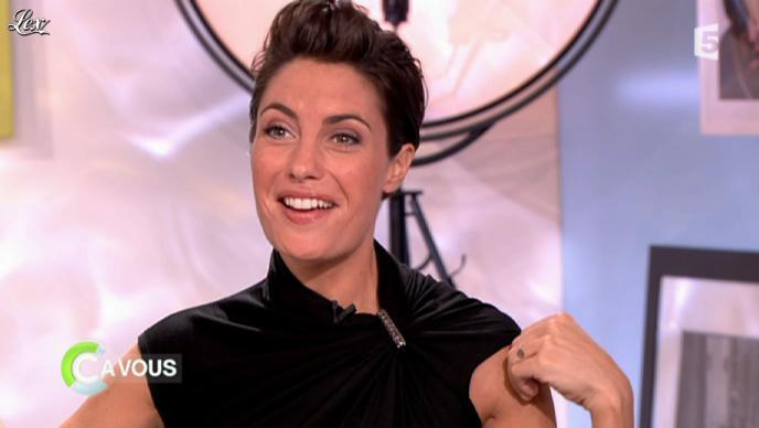 Alessandra Sublet dans C à Vous la Suite. Diffusé à la télévision le 13/09/11.