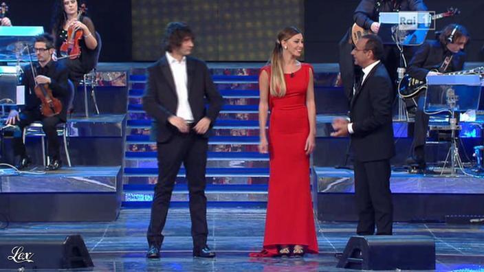 Belen Rodriguez dans 52 Premio TV. Diffusé à la télévision le 11/03/12.