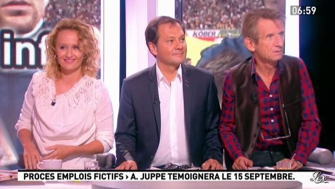 Caroline Roux dans la Matinale. Diffusé à la télévision le 07/09/11.