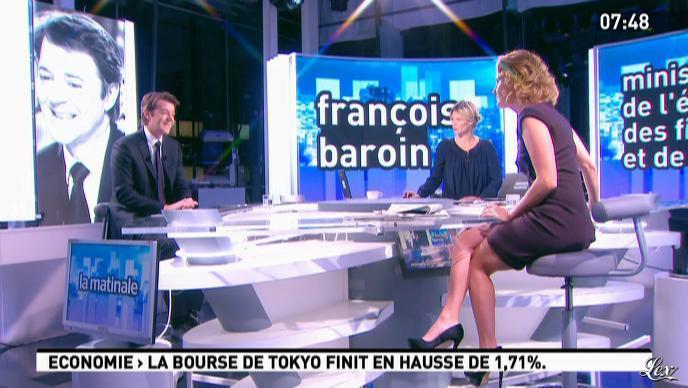 Caroline Roux dans la Matinale. Diffusé à la télévision le 07/12/11.
