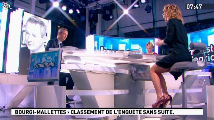 Caroline Roux dans la Matinale. Diffusé à la télévision le 17/11/11.