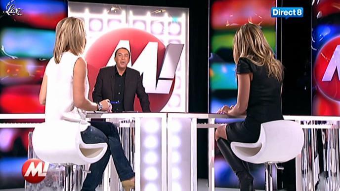 Clara Morgane chez Morandini. Diffusé à la télévision le 19/10/11.