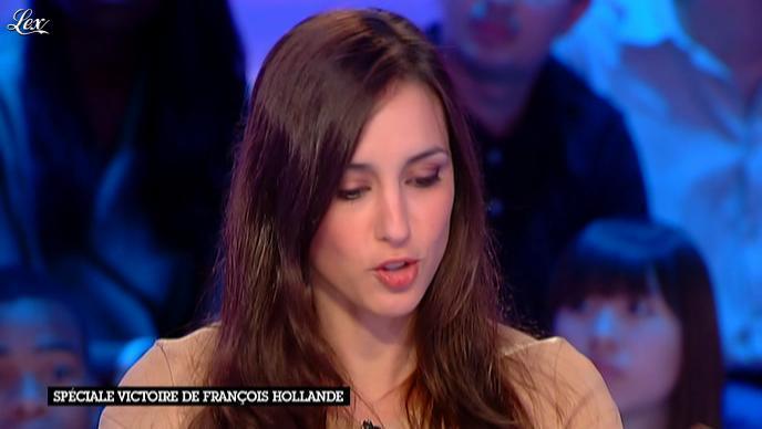 Elise Chassaing dans la Nouvelle Edition. Diffusé à la télévision le 07/05/12.