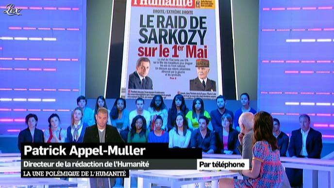 Elise Chassaing dans la Nouvelle Edition. Diffusé à la télévision le 25/04/12.