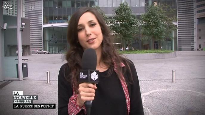 Elise Chassaing dans la Nouvelle Edition. Diffusé à la télévision le 31/08/11.