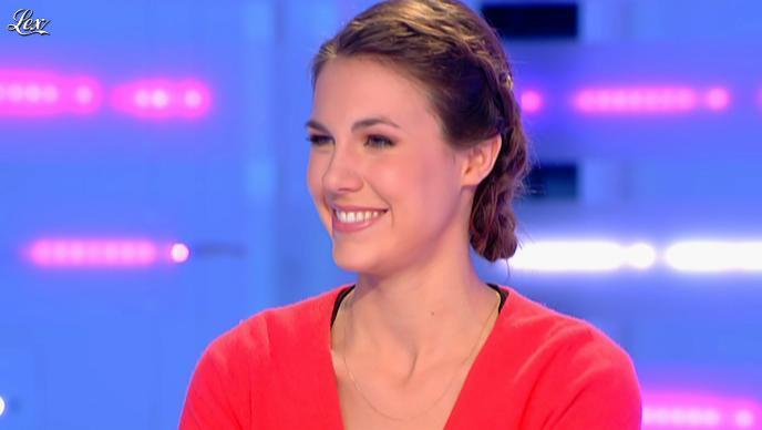 Emilie Besse dans la Nouvelle Edition. Diffusé à la télévision le 08/03/12.