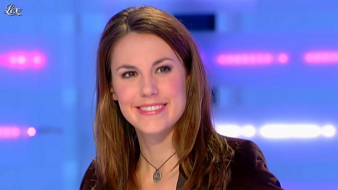 Emilie Besse dans la Nouvelle Edition. Diffusé à la télévision le 14/02/12.