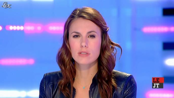 Emilie Besse dans la Nouvelle Edition. Diffusé à la télévision le 17/01/12.