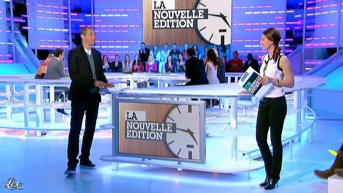 Emilie Besse dans la Nouvelle Edition. Diffusé à la télévision le 18/04/12.