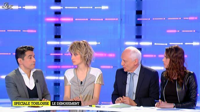 Emilie Besse dans la Nouvelle Edition. Diffusé à la télévision le 22/03/12.