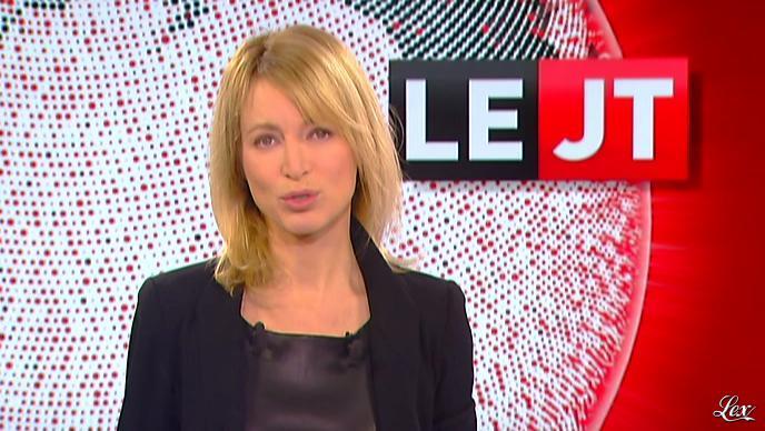 Florence Dauchez dans le JT de Canal Plus. Diffusé à la télévision le 14/02/12.