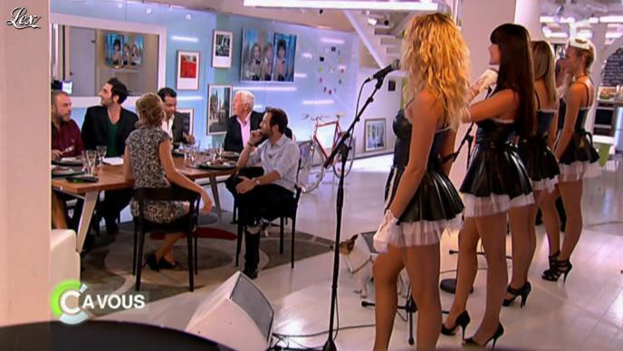 Les Nouvelles Coco Girls dans C à Vous la Suite. Diffusé à la télévision le 13/09/11.